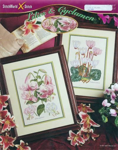 Lilies & Cyclamen
