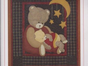 Baby Bear Wall Hanging Kit by Rachel T Pelman