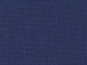 589 Navy Zweigart Aida 14 Count