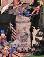 Robert Christmas Stocking Pattern