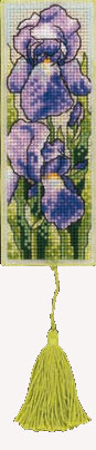 Royal Paris Bookmark Cross Stitch Kits