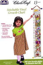 Vinyl Growth Chart Cross Stitch Kit