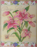 Day Lillies Cross Stitch Kit by Bucilla BU45527