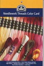DMC Needlework Threads Colour Card