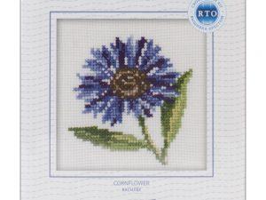 Cornflower  Cross Stitch Kit