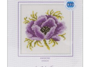 Anemone  Cross Stitch Kit