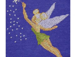 Tinker Bell Vignette  Cross Stitch Kit