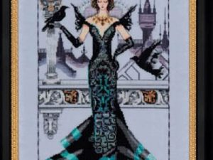 The Raven Queen Mirabilia MD 139 Cross Stitch Pattern