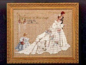 The Wedding Cross Stitch Pattern LL 19