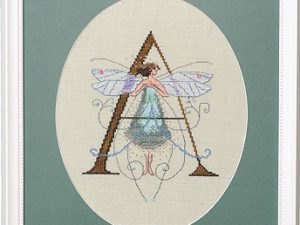 "Letter ""A"" Fairies by Norah Corbet Cross Stitch Pattern"