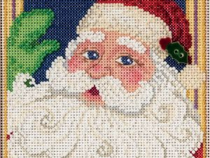 Jolly St Nick Mill Hill Cross Stitch Kit