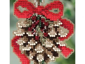 Pinecone Mill Hill Cross Stitch Kit