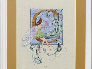 "Letter ""C"" Fairies by Norah Corbet Cross Stitch Pattern"