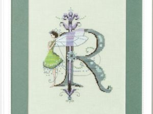 "Letter ""R"" Fairies by Norah Corbet Cross Stitch Pattern"