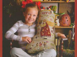 Anna Christmas Stocking Pattern