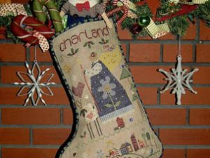 Charland Christmas Stocking Pattern