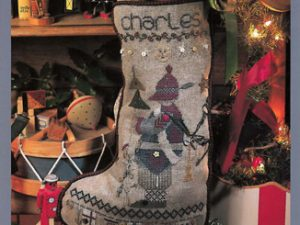 Charles Christmas Stocking Pattern