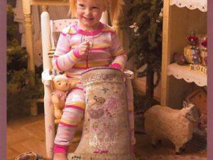 Elisabeth Christmas Stocking Pattern