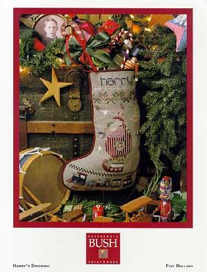 Harry Christmas Stocking Pattern