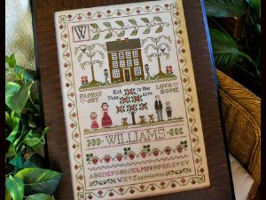 Family Sampler by Little House Needleworks