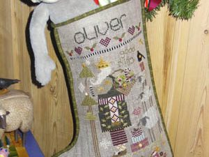 Oliver Christmas Stocking Pattern
