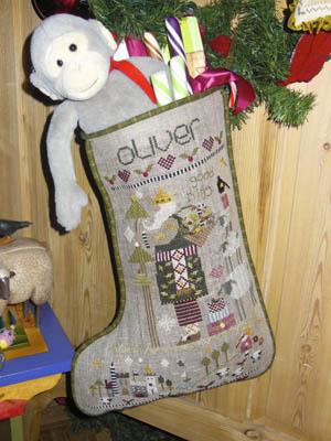 Oliver Christmas Stocking Pattern