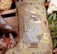 Reed Christmas Stocking Pattern