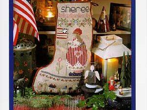 Sheree Christmas Stocking Pattern
