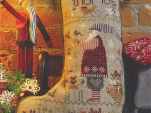 Thomas Christmas Stocking Pattern