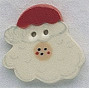 Mill Hill Button 86008 Santa Face