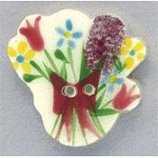 Mill Hill Button 86038 Floral Bouquet