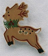 Mill Hill Button 86147 Reindeer