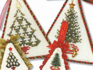 Christmas Tree Collection VII Cross Stitch Pattern