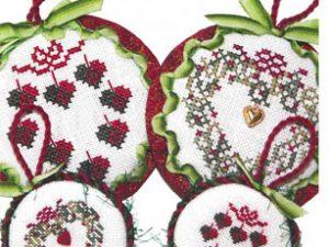 Wreath Ornaments II by JBW #281