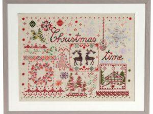 Christmas Time - DMC Coloris Pattern