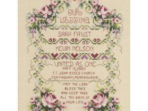 """United As One"" Janlynn Cross Stitch Kit 80-0461"