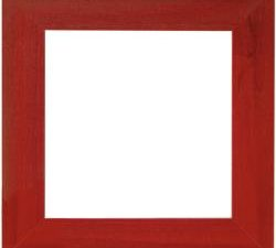 "Frame 6"" x 6"" Red by Mill Hill GBFRM9"