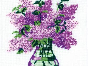 Bunch of Lilacs Cross Stitch Kit by Riolis R603