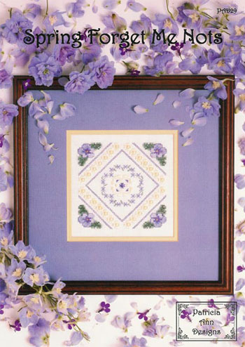 Spring Forget Me Nots PAD29 By Patricia Ann Designs