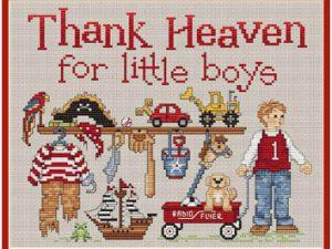 Thank Heaven for Little Boys by Sue Hollis L430