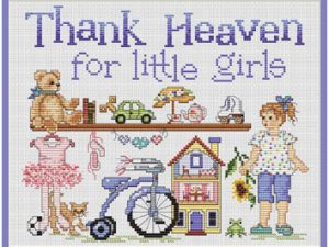 Thank Heaven for Little Girls by Sue Hollis L431
