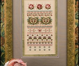 Bliss - 15th Anniversary Sampler - Pattern and Embellishments