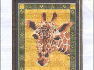 Giraffe pattern by Leah Seabrook Hedgepath