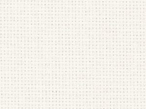 101 Antique White Zweigart Aida 14 Count 150cm wide