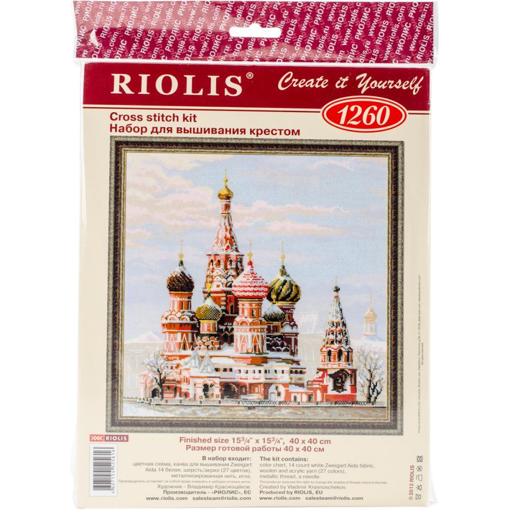 St Basil's Moscow Cross Stitch Kit RI1260