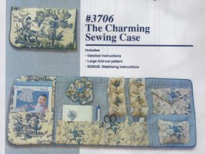 Charming Sewing Case by Michelle's Designs # 3706