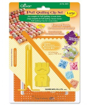 Clover Puff Quilting Clip Set Large Art 8401