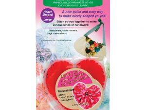 "Clover ""Quick"" Yo-Yo Maker Heart Shaped Large Art 8705"