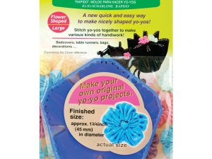 "Clover ""Quick"" Yo-Yo Maker Flower Shaped Large Art 8707"
