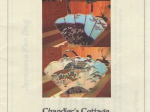 Japanese Fan Bag Pattern by Chandlers Cottage